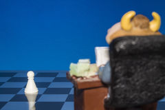Chess as a business 2 Royalty Free Stock Photos