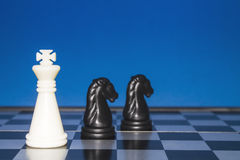 Chess as a business 13 Royalty Free Stock Image