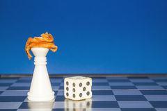 Chess as a business 6 Royalty Free Stock Photo