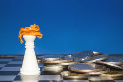 Chess as a business 8 Stock Image