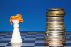 Chess as a business 9 Royalty Free Stock Photos