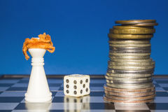 Chess as a business 5 Stock Images