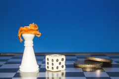Chess as a business 7 Royalty Free Stock Photos