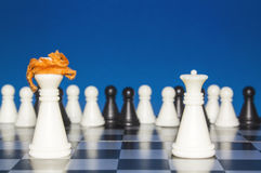 Chess as a policy 18 Royalty Free Stock Photos