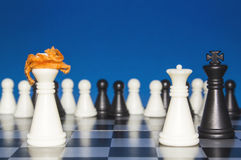 Chess as a policy 17 Royalty Free Stock Photography