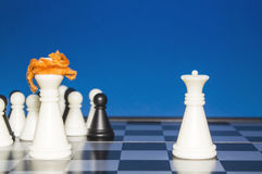 Chess as a policy 20 Royalty Free Stock Photography