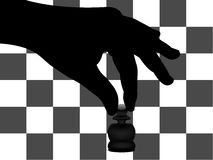 Chess background Royalty Free Stock Photography
