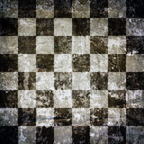 Chess background. Very old grunge chess background or texture Stock Photo
