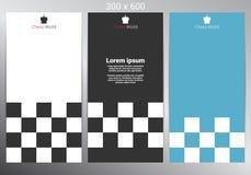 Chess banner design. Vector illustration. Chess banner for poster, flyer and web design. Vector illustration vector illustration