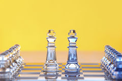 Free Chess Battle Royalty Free Stock Photo - 12277945