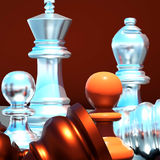 Chess battle Royalty Free Stock Image