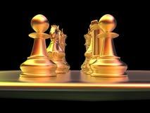 Chess battle Royalty Free Stock Photos