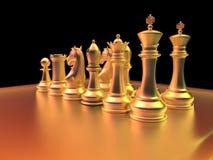 Chess battle Stock Photography