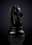 Chess Black Knight - Vector Royalty Free Stock Photography