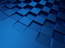 Chess blue metallic background Royalty Free Stock Photography