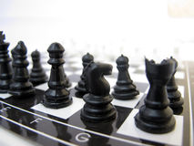 Chess Board. A close up of chess peace on board Royalty Free Stock Images