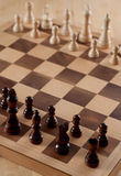 Chess on Board Stock Image