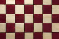 Chess board. An above view of a chess board showing the checker pattern royalty free stock photo