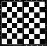 Chess board. Or checkered background Royalty Free Stock Photography