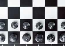 Chess board Stock Image
