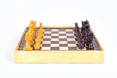 Chess Board. Chess  on white background Stock Image
