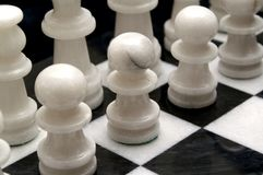 Chess board. Picture of chess board Royalty Free Stock Image