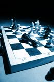 Chess on a board Stock Image