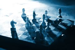 Chess on a board Royalty Free Stock Photos