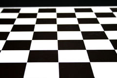 Chess board. Black and white squares of chess board Royalty Free Stock Images