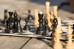 Chess-board Stock Photography