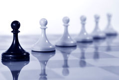Chess board. Conceptual business photo Stock Photos