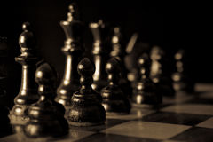 Chess board Royalty Free Stock Image