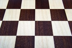 Chess board background, wooden vintage style. stock images