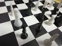 Chess board checker board game. Intelligence mind game background texture chess piece chessman stock photos