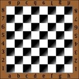 Chess board stock illustration