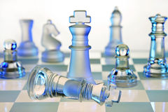 Chess Board - Checkmate Royalty Free Stock Images