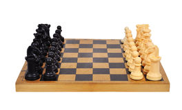 Chess Board with Chess Stock Image