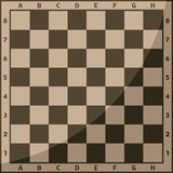 Chess board and chessmen background vector leisure concept knight group white and black piece competition. Chess board and chessmen background vector leisure Stock Photography