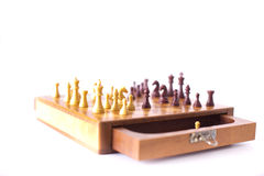 Chess board with chessmen Stock Photography
