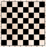 Chess board. Closeup for background Royalty Free Stock Photography