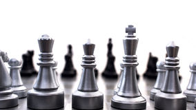 Chess board compettition concept. Chess board competition concept. High resolution image Royalty Free Stock Photography