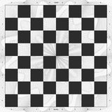 Chess Board Design. Chess board with classic design with international specifications ready for printing. Can be download printed on vinyl or paper or canvas Royalty Free Stock Photography