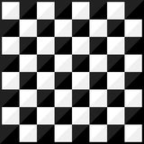 Chess board flat design style Stock Photography
