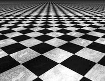 Chess board floor textured background. Stock Photo