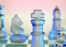 Chess - Board Game Stock Image