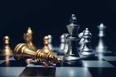 Free Chess Board Game Business Strategy Or Leadership Concept Stock Photos - 169060513