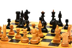 Chess board game Stock Photography