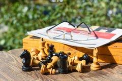 Chess board game Stock Photos