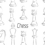 Chess board. Game. Pattern Stock Photography