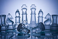 Chess board game Royalty Free Stock Images